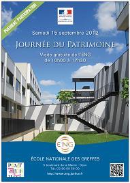 Ouverture au public de l'Ecole nationale des greffes - 15 septembre 2012 © ENG