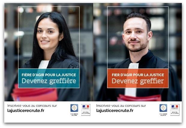 Devenez greffier - campagne de recrutement 2019