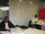 Agents togolais au centre de ressources ducumentaires