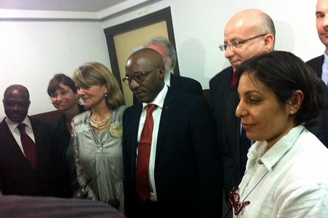 Déplacement des directeurs des Ecoles du ministère à Abidjan © ENG