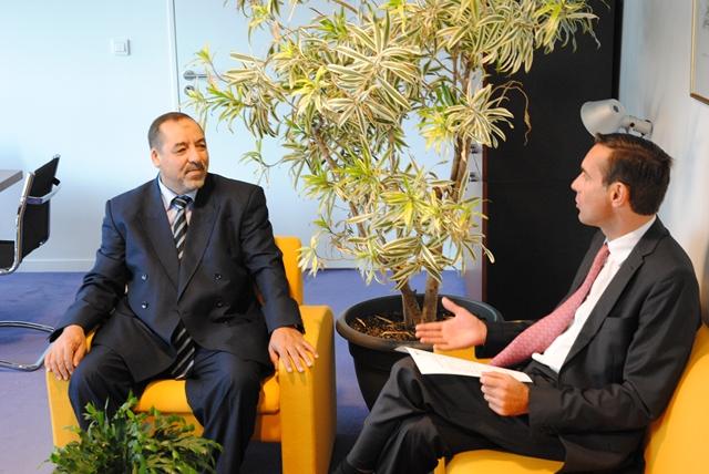 De gauche à droite : Abbas DJEBARNI et Stéphane HARDOUIN © ENG