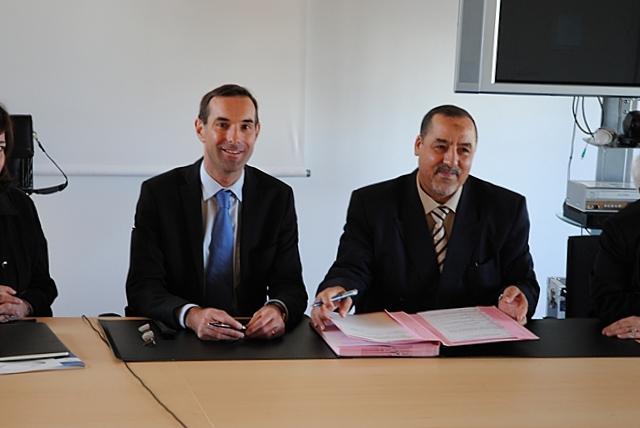 Abbas DJEBARNI et Stéphane HARDOUIN © ENG