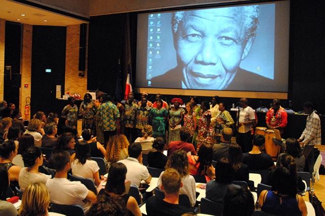 L'ENG rend hommage à Nelson MANDELA © ENG