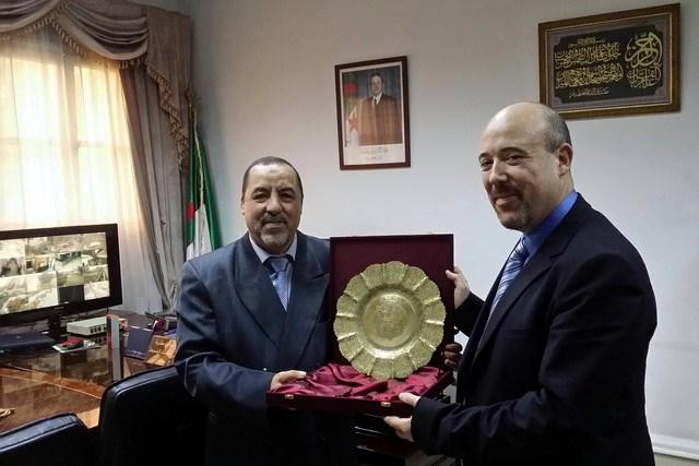 Comité de suivi de coopération franco-algérienne au titre de l'année 2014