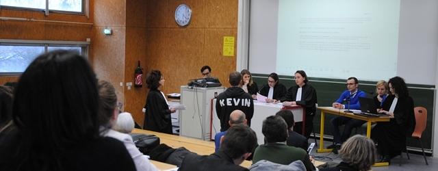 Procès théâtralisé à la faculté de droit de Dijon © ENG