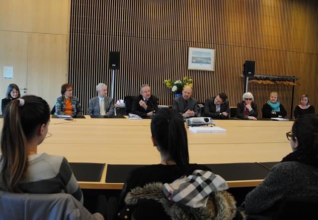 Visite à l'ENG de Dominique RAIMBOURG, Député de Loire Atlantique, Vice-président de la commission des lois