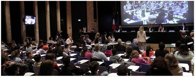 Procès fictif organisé à l'ENG pour 140 élèves de CM1