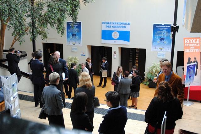 Colloque européen à l'Ecole nationale des greffes © ENG