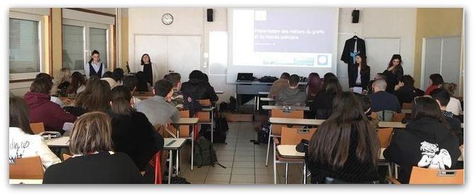L'ENG à la renconte de lycées dijonnais