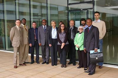 Photographie de groupe - Accueil d'une délégation béninoise - 18 septembre 2009