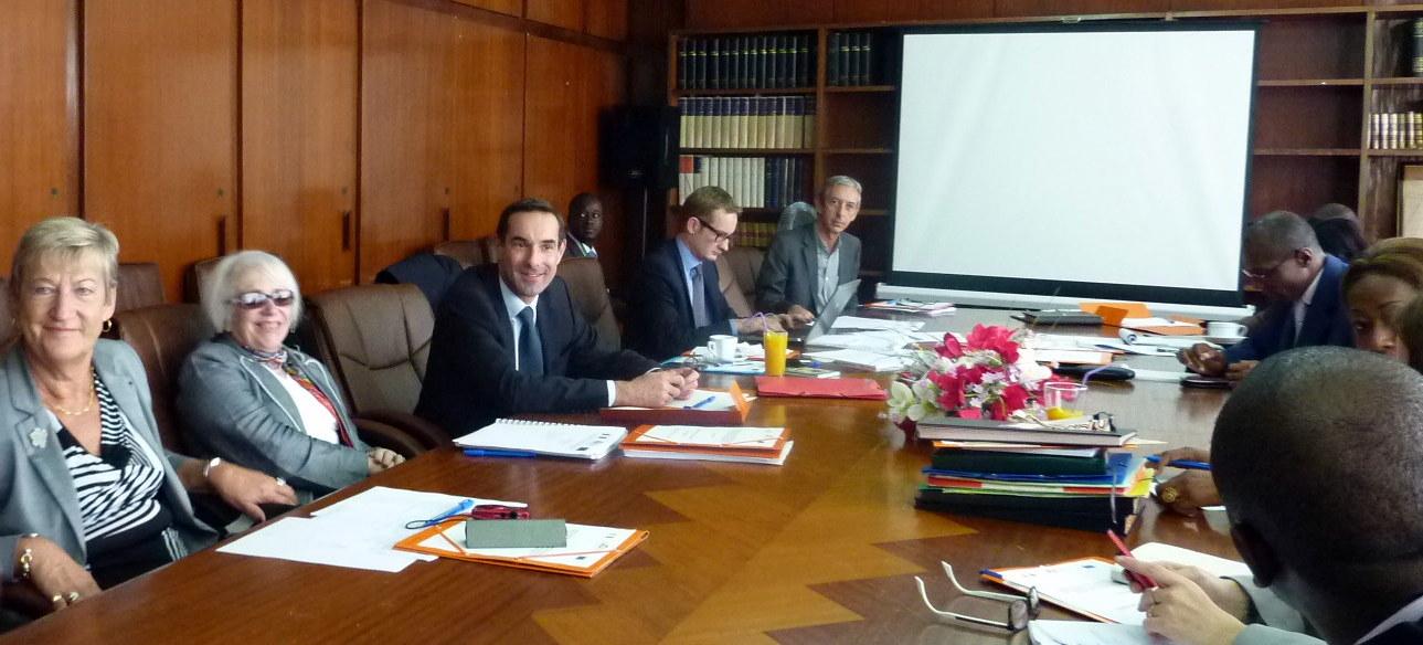 Comité de pilotage à Abidjan © ENG