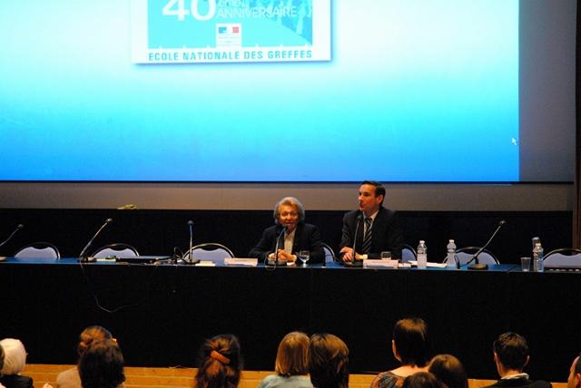 """Conférence """"Grand témoin"""" de Madame Simone ROZÈS © ENG"""