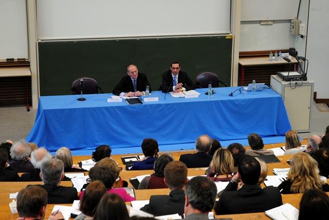 Participation de l'ENG à un colloque à l'UFR droit de Dijon © ENG