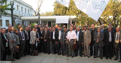 Les sessionnaires et leurs formateurs - Alger - décembre 2010