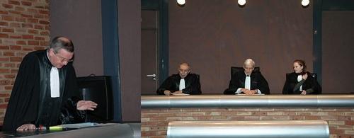 Prestation de serment des greffiers en chef de la promotion A2011 X01 © ENG