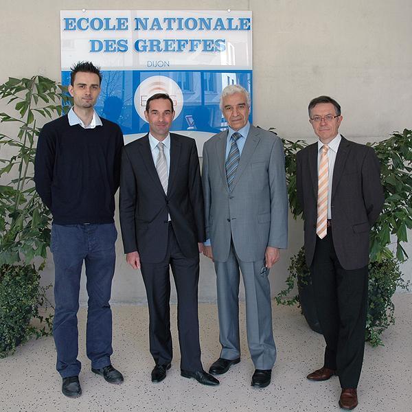 Visite du magistrat de liaison algérien en France