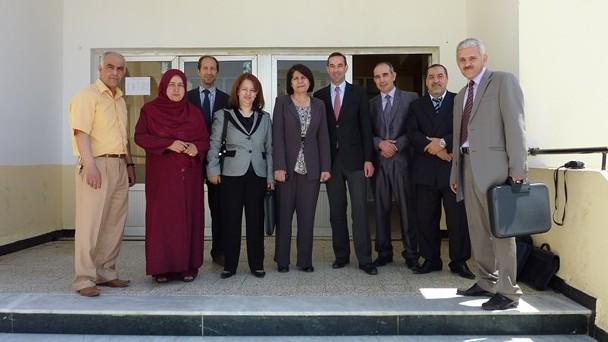 Déplacement du Directeur de l'Ecole nationale des greffes à Alger © ENG