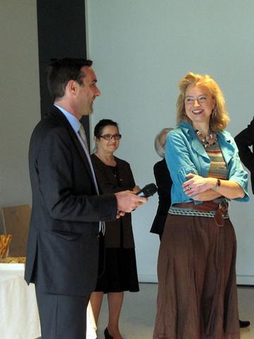 Réception organisée pour le parrainage de la promotion A2011 C01 - Monsieur Stéphane HARDOUIN et Madame Béatrice MELMOUX © ENG