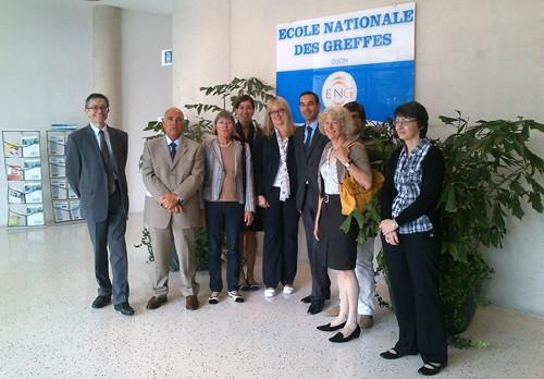 Visite d'études de greffiers de l'Office européen des brevets © ENG