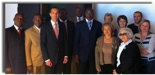 Visite d'études d'une délégation ivoirienne © ENG