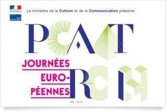 Logo 2012 des Journées européennes du patrimoine