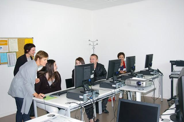 Présentation d'uns salle de cours © ENG