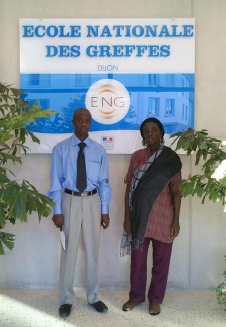 Madame Bendel TENDENG et Monsieur Modou DIAKHOUMPA, greffiers sénégalais © ENG